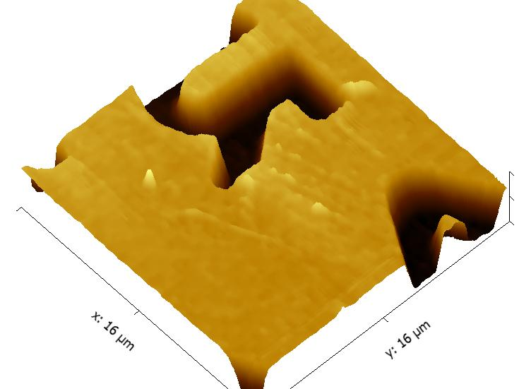 high resolution AFM image