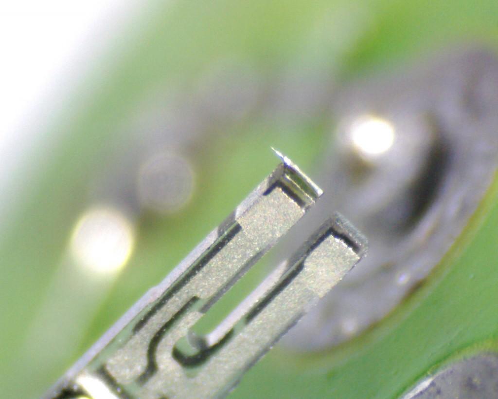 Quartz Tuning Fork AFM force sensor